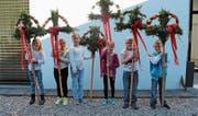 Voller Freude und Motivation: Familiengottesdienst zum Palmsonntag in Sennwald. (Bild: PD)