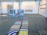Der Neue Shed im Eisenwerk Frauenfeld ist einer der fünf Ausstellungsräume für die erste Werkschau Thurgau. (Bild: Barbara Fatzer)