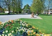 Gepflegt, idyllisch tagsüber: Der Jakob-Züllig-Park. Der Stadtrat erliess Arealordnung. (Bild: Max Eichenberger)
