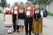 Der Vorstand des Appenzellervereins Glarnerland. (Bild: PD)