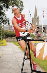 Der 26jährige Eschliker Martin Hubmann auf dem Weg zur WM-Silbermedaille in Forres, Schottland. (Bild: ky/Remy Steinegger)