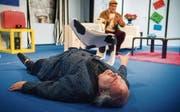 Ein weinerlicher Kotzbrocken: Thomas Götz als Verleger Pierre Brochant. (Bild: Andrea Stalder)