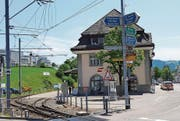 Bahnhofsumbau und Kreiselbau sorgen nächstes Jahr in und um Teufen für schwierige Verkehrsverhältnisse. (Bild: APZ)
