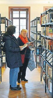 Die Kantonsbibliothek Thurgau in Frauenfeld. (Bild: Reto Martin)