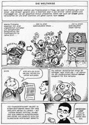 Die Geschichte der Wirtschaft im Comic, vom Mittelalter bis ins hochaktuelle Heute. (Bild: pd)
