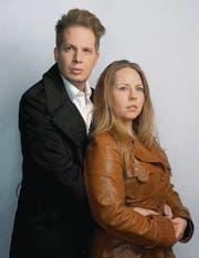 Oliver Frischknecht und Stefanie Derner spielen ein Paar, dessen Ehe in die Brüche geht. (Bild: pd)