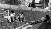 Seit 1976 ist die Obere Mühle beim Wiler Stadtweiher ein Treffpunkt für Jugendliche. (Bild: PD)