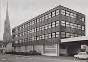 Heute vor 50 Jahren wurde das neue Lager- und Bürogebäude der ISA eingeweiht.