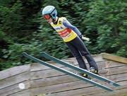 Lars Künzle springt konstant viermal auf 24 Meter und sichert sich zwei Tagessiege. (Bild: PD)