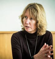 Fabienne Schnyder kündigt ihren Rücktritt als Gemeindepräsidentin an. (Bild: Reto Martin)