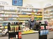 Catherine Baudenbacher-Dillier und ihr Team der Apotheke zur Eiche haben sich mit der Situation arrangiert. (Bild: sso)