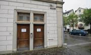 Die öffentliche WC-Anlage an der Ecke Bahnhofstrasse/Kirchgasse in der Bischofszeller Altstadt. (Bild: Donato Caspari)