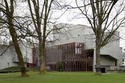 Blick auf das Theater St.Gallen: Der Kantonsrat beschloss das Ratsreferendum für die Kreditvorlage. (Bild: GIAN EHRENZELLER (KEYSTONE))