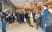 Gut 50 Gäste waren beim Neujahrsanlass der CVP Weinfelden. (Bild: PD)
