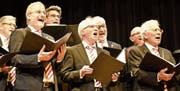 Der Sängerbund Buchs bot ein musikalisch abwechslungsreiches und hochstehendes Programm. (Bild: Heidy Beyeler)