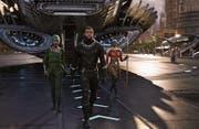Der erste Blockbuster mit fast ausschliesslich schwarzen Darstellern: Eine Szene aus «Black Panther». (Bild: Walt Disney Pictures)