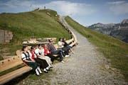 Die längste Sitzbank der Welt soll weg. (Bild: pd)