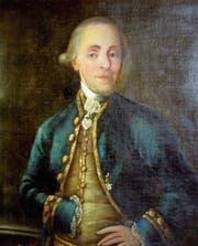 Die einzig erhaltene Abbildung von Johann Nepomuk Wirz à Rudenz, der als letzter Reichsvogt der Stadt Wil in die Geschichte einging. (Bild: PD)