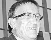 Peter Wanner Präsident Quartierverein Huben (Bild: Thomas Wunderlin)