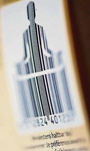 Der meditierende Barcode. (Bild: Urs Jaudas)