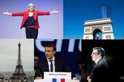 Die Präsidentschaftswahl 2017 wird von zahlreichen Experten als Richtungswahl für Frankreich bezeichnet. (Bild: Keystone)