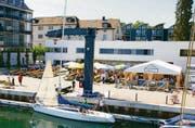 Hafenfest Bottighofen an bester Aussichtslage. (Bild: eb)