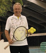 Psychologe und Tennislehrer Kurt Wiederkehr ist Entwickler von «Mental Match Play». (Bild: Christiana Sutter)