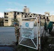 Blauhelmsoldat auf Zypern: Gibt es schon bald eine vergleichbare Friedensmission im Donbass? (Bild: Petros Karadjias/AP (4. Januar 2017))
