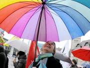 Frauen, so bunt wie ein Regenbogen und so oft besungen wie niemand sonst. (Bild: Keystone)