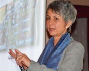 Referentin Annette Keller, Direktorin der einzigen Justizvollzugsanstalt für Frauen in der deutschen Schweiz. (Bild: Margrith Pfister-Kübler)