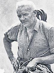 «Alpsteinkönig» Franz Grubenmann (Bild: pd)