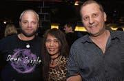 Mike Brüllmann (47), Alma Sonderegger (43) und Roman Alder (47), alle drei aus Herisau. (Bilder: Chris Marty (www.tgplus.ch))