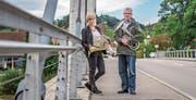 Ruth Gubler, Thurgauer Kantonalmusik-Präsidentin, und Werner Messmer, OK-Präsident des Thurgauer Kantonalmusikfestes 2019 in Kradolf-Schönenberg. (Bild: Thi My Lien Nguyen)