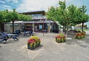 Panoramarestaurant Seepark: Bald wird der neue Pächter bestimmt. (Bilder: Max Eichenberger)