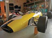 Schnell. Auch Rennwagen finden sich in Paul Walters Sammlung. (Bild: Reto Martin (Reto Martin))