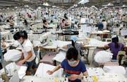 Am Pranger: die Arbeitsbedingungen der Textilindustrie. (Bild: PD)