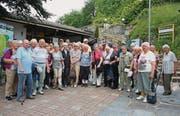 Die 40 Teilnehmer erlebten eine schöne Woche in Paradiso und Umgebung. (Bild: pd)