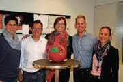 Der Vorstand: Katja Nobs, René Walther, Sandra Stadler, Patrik Hugelshofer und Denise Neuweiler