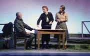 Szene aus «Deutschstunde» mit Darstellern des a.gon Theaters München. (Bild: PD/a.gon)