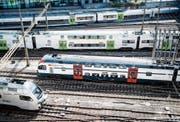Die BLS will das Monopol der SBB im Fernverkehr knacken. (Bild: Manuel Lopez/KEY (Bern, 15. August 2016))