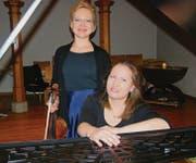 Das Duo Anna Tschinaeva und Inga Katsantseva bewies künstlerisches Format und musikalische Kompetenz. (Bild: fo)