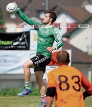 Der Wigoltinger Ueli Rebsamen punktet erfolgreich für sein Team. (Bild: Mario Gaccioli)