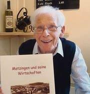 Ferdinand Stutz hat die Matzinger Wirtschaftsgeschichte erforscht. (Bild: pd)