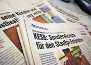 ON-Kampagne: «In der Schweiz noch nie dagewesen». (Bild: Conradin Knabenhans)