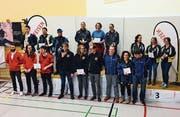 Nach dem anstrengenden Wettkampf wurden die erfolgreichen Schützinnen und Schützen geehrt und mit einem schönen Preisgeld belohnt. (Bild: PD)