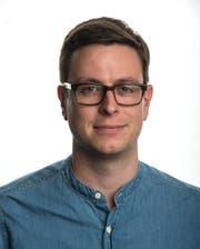 """Jonas von Flüe, Online-Redaktor bei der """"Luzerner Zeitung"""". (Bild: pd)"""