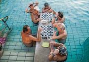 Baden kann Spass machen, wie hier in eine Wellnessanlage in Ungarn. (Bild: ky)