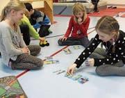 Für alle Altersklassen gab es Spielmöglichkeiten, so dass der Familienspielnachmittag des Einwohnervereins ein Erfolg wurde. (Bild: PD)