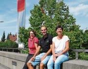 Yvonne Preiss, Martin Leuch und Isabelle Wepfer. (Bild: Urs Brüschweiler)