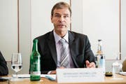 Bernhard Wegmüller, der Direktor von H+ Die Spitäler der Schweiz. (Bild: ANTHONY ANEX (KEYSTONE))